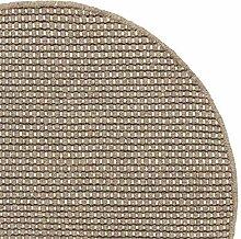 URBANARA runder Teppich Kolong - 100% Reine