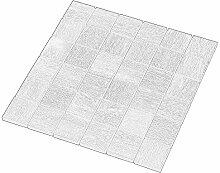 Urbiko Beige Mosaik 4,7x4,7 cm, Feinsteinzeug