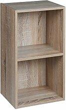 URBN Living 1, 2, 3, 4Etagen Holz Bücherregal