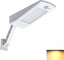 UrChoiceLtd Solar-Wandlampe mit 48LEDs, 900lm,