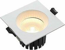 Urdin LED-Einbaustrahler eckig IP65, 10,6W -