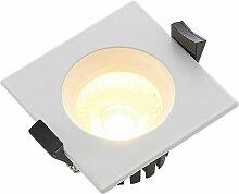 Urdin LED-Einbaustrahler eckig IP65, 4W - Arcchio