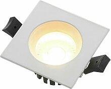 Urdin LED-Einbaustrahler eckig IP65, 6,4W - Arcchio