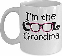 Urgroßmutter Tasse - ich bin die coole Oma Kaffee