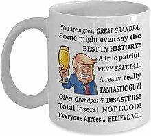 Urgroßvater Trump Becher