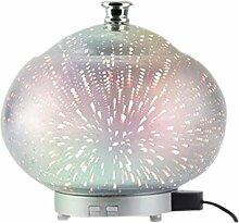 URIJK 3D Galvanik Aromatherapie Luftbefeuchter Bunt Nachtlampe Nachtlicht Hause Ultraschall Aroma Lichter Nacht Licht Büro Geschenke