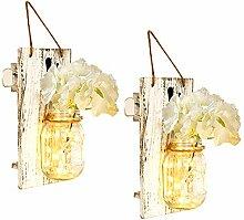 Urijk Rustikale Wandleuchten Wandlampe mit