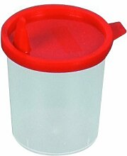 Urinbecher Schnappdeckel 1 - Probebecher Kunststoffbecher