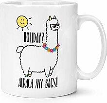 Urlaub Alpaca Mein Taschen 283g Becher Tasse