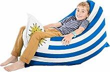 Uruguay Flagge Squashy Squarbie Sitzsack - Junior
