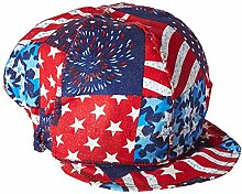 US Forge 141 Cotton Welding Cap, USA Flag by US