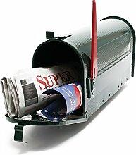 US Mailbox Amerikanisches Design Grün Briefkasten Standbriefkasten