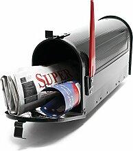 US Mailbox Amerikanisches Design Schwarz