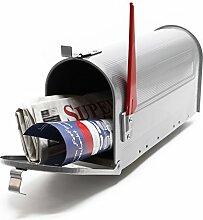 US Mailbox Amerikanisches Design Silber