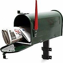 US Mailbox Briefkasten Amerikanisches Design grün