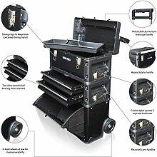 US PRO TOOLS schwarz Kunststoff Stahl Mobile