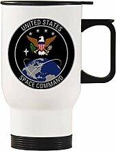 US Space Command Edelstahl-Autobecher,