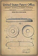 US United States Patent Office Frisbee Scheibe