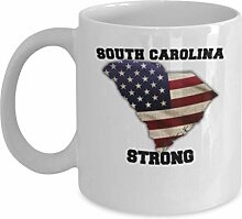 USA State Strong South Carolina Kaffeetasse -