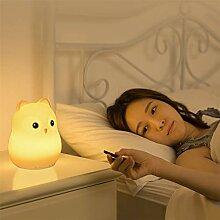 USB-Lade-Cartoon-Silikon-Pat-Lampe, für