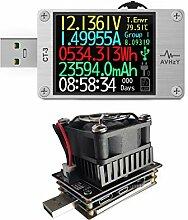 USB Power Meter USB 3.1 Tester Digital Multimeter