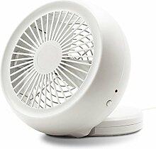 USB-Ventilator größte Wind Office Desktop-PC Desktop-USB/Batterie Mini Ventilator beige
