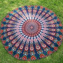 USDFJN Strand Handtuch Sonnenschutz Schal Runde