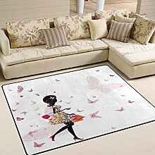 Use7 Fashion Mädchen Shopping Teppich