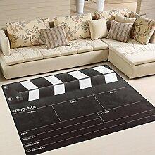 Use7 Funny Movie Clapboard Teppich, für