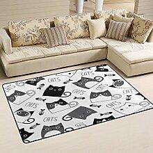 Use7 Teppich für Katzen, Kätzchen,