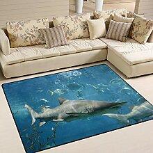 Use7 Teppich für Wohnzimmer, Schlafzimmer,