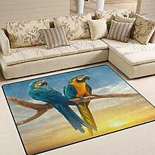 Use7 Teppich für Wohnzimmer, Schlafzimmer und