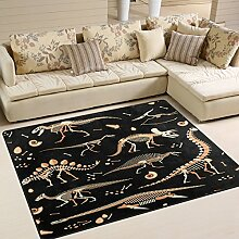 Use7 Teppich mit Dinosaurier-Motiv, für