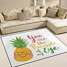 Use7 Teppich mit Zitaten ?You Are The Ananas of My