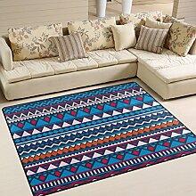 Use7 Teppich, Vintage-Stil, Ethno-Muster,