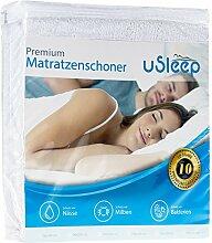 uSleep Premium Matratzenschoner I 160x200 cm I
