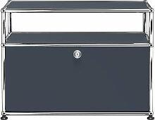 USM Haller - TV-/Hi-Fi-Möbel S mit Klapptür und