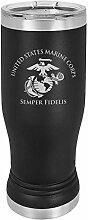 USMC Bierglas – Marine Corps Pilsner Tumbler –