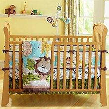 USTIDE Bettwäsche Set für Wiege Babybett