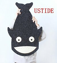 ustide Kinder Teppich Cartoon Shark Fish Design