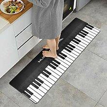 USTIDE Küchenteppich 20X59 Piano
