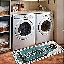 USTIDE Küchenteppich, rutschfeste Gummimatte,