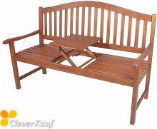 Utah Gartenbank 3-Sitzer aus Akazienholz
