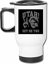 Utah Get Me Two Point Break Edelstahl-Becher mit