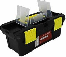 Utoolmart Werkzeugkiste mit ABS-Materialschichten,