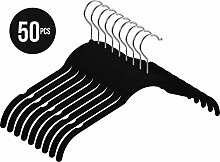 Utopia Home Samt-Kleiderbügel für Hemd/Kleid