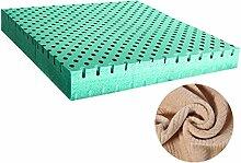 uus 5cm Stärke Einfache moderne Art langsamer Rückstoß-Gedächtnis-Schaum-Büro-Stuhl-Kissen und natürliches Latex-Auto-Sitzkissen für rückseitige Schmerz und Ischiasentlastungs-Stuhl-Kissen-unterschiedliche Größe für Ihre Wahl Bequemes u. Weiches Gefühl ( Farbe : C (brown) , größe : 40*5cm )