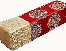 uus Altes chinesisches quadratisches Kissen Chiness klassisches quadratisches Kissen-traditionelles quadratisches Kissen Schönes chinesisches Muster-Kissen für Sofa / Bett / Fenster Sofa-Kissen, Bett-Kissen, Handkissen ( MUSTER : A )