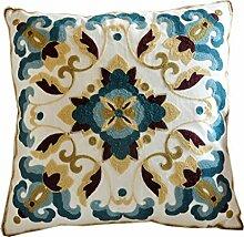 uus Classic Pattern Sofa Kissen / Kissen Cover Thicken Baumwolle hervorragende schöne Stickerei Chinese Style Kissen für Stuhl Bett Sofa Auto viele klassische schöne Muster für Ihre Wahl ( ausgabe : Cushion , MUSTER : H )