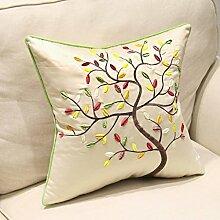 uus Der neue Art- und Weiseart-Stuhl-Flanell-gestickte Nachttisch-Sofa-Kissen-Kissen-Kissen mit innerem Kern-gute Qualitätssofa-Kissen-schöner Stuhl-Kissen ( MUSTER : G )